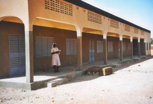 Krankenhaus-in-Burkina-Faso