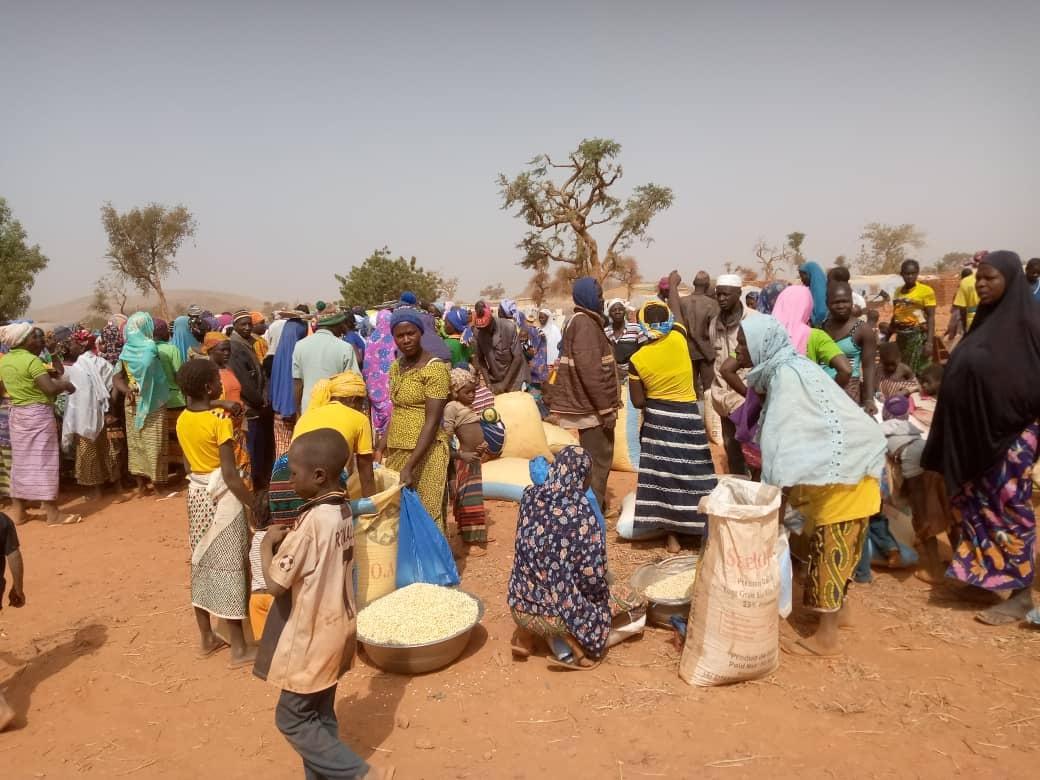 Flüchtlinge aus dem Norden und Corona in Burkina FAso